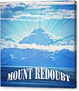 The Volcano Mt Redoubt Canvas Print