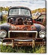 The Volvo Junkyard Canvas Print
