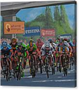 The Vuelta Canvas Print
