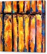 The Waall Canvas Print