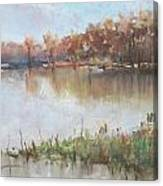The Wabash-out Of Its Banks Canvas Print
