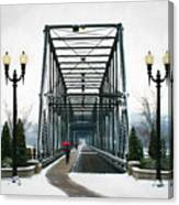 The Walking Bridge Canvas Print