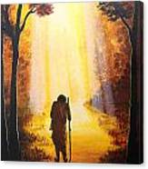 The Wandering Ascetic Canvas Print