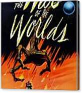The War Of The Worlds Canvas Print