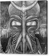 The Warrior Canvas Print