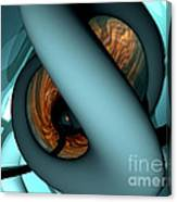 The Watcher Abstract Canvas Print