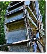 The Water Wheel Canvas Print