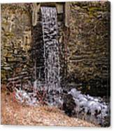 The Waterfall At Hagy's Mill Canvas Print