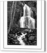 Moss Glen Falls Poster Canvas Print