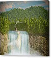 The Waterfall... Canvas Print