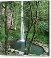 The Waterfalls Canvas Print