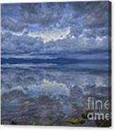 The Waters Beneath Canvas Print