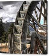 The Waterwheel Canvas Print
