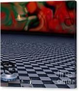 the Wedjat Eye Canvas Print