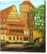 The Weinstade Canvas Print