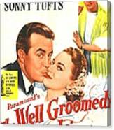 The Well Groomed Bride, Us Poster Canvas Print