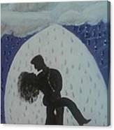 The Wet Kiss Canvas Print