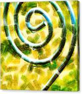 The Wet Whirl  Canvas Print