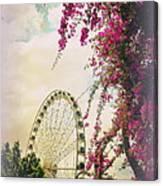 The Wheel Of Brisbane Canvas Print