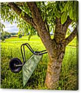 The Wheelbarrow Canvas Print