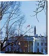 The White House 1 Canvas Print