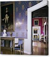 The White House Blue Room Canvas Print