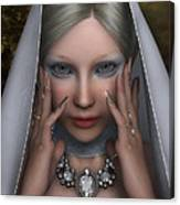 The White Lady Canvas Print