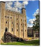 The White Tower Canvas Print