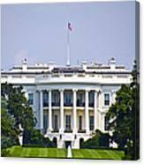 The Whitehouse - Washington Dc Canvas Print