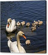 The Whole Family Canvas Print