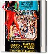The Wild Party, Us Poster Art, Raquel Canvas Print