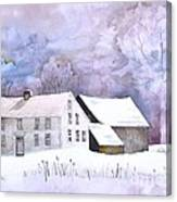 The Wilder Homestead Canvas Print