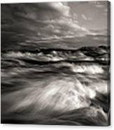 The Wind And The Sea Canvas Print
