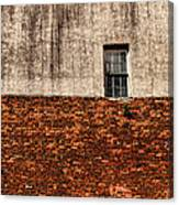 The Window Above Canvas Print
