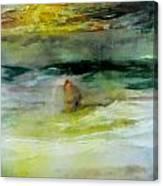 The Windsurfer Canvas Print