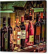 The Wine Shop Canvas Print