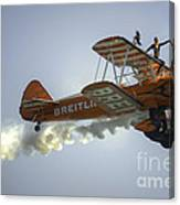 The Wing Walker  Canvas Print