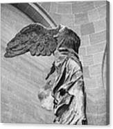 The Winged Victory Canvas Print