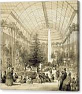 The Winter Garden Canvas Print