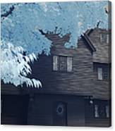 The Witch House In Infrared Canvas Print