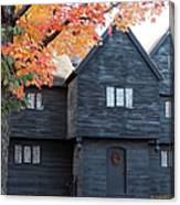 The Witch House Of Salem Canvas Print