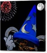 The Wizard Walt Disney World Canvas Print