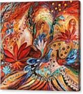 The Women Of Tanakh Hava II Canvas Print