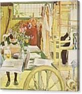The Workroom, Pub. In Lasst Licht Hinin Canvas Print