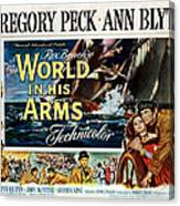 The World In His Arms 1952 Canvas Print