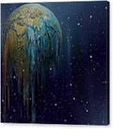 The World Is Melting Canvas Print