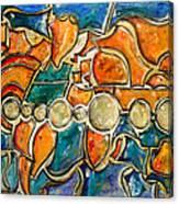 The World - Marcello Cicchini Canvas Print