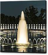 The World War II Memorial Canvas Print