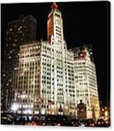 The Wrigley Building-chicago Canvas Print
