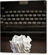 The Writer Canvas Print